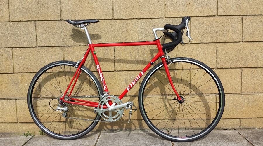Ribble reynolds 531 competition Retromod rebuilt in out Bristol workshop